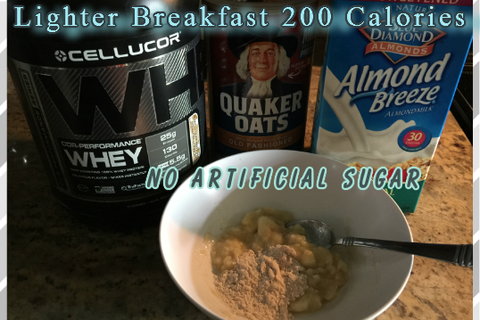 The Feliciano Journey lighter-breakfast-200-cal-oatmeal