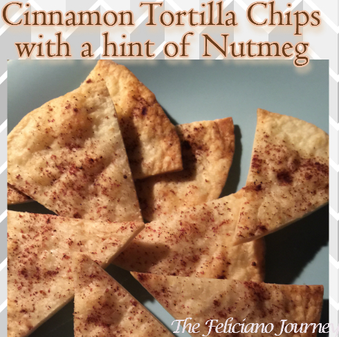 Cinnamon Chips with a hint of Nutmeg