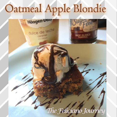 Oatmeal Apple Blondies