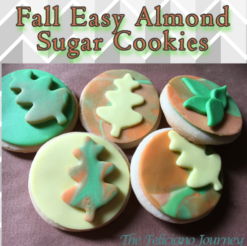 Easy Fall Sugar Cookies