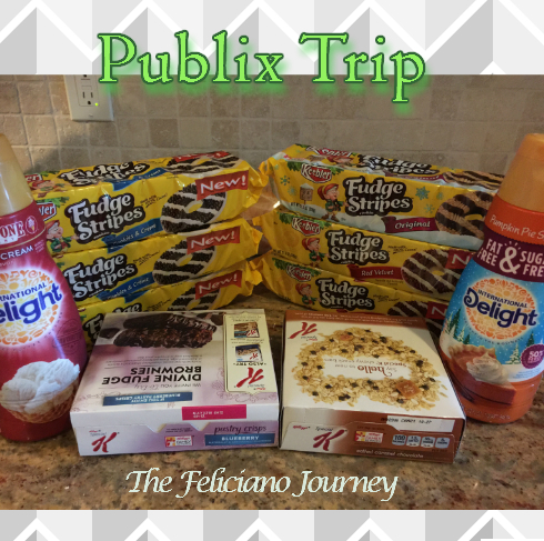 Publix Shopping Trip 10/29/15 – OOP $10.16