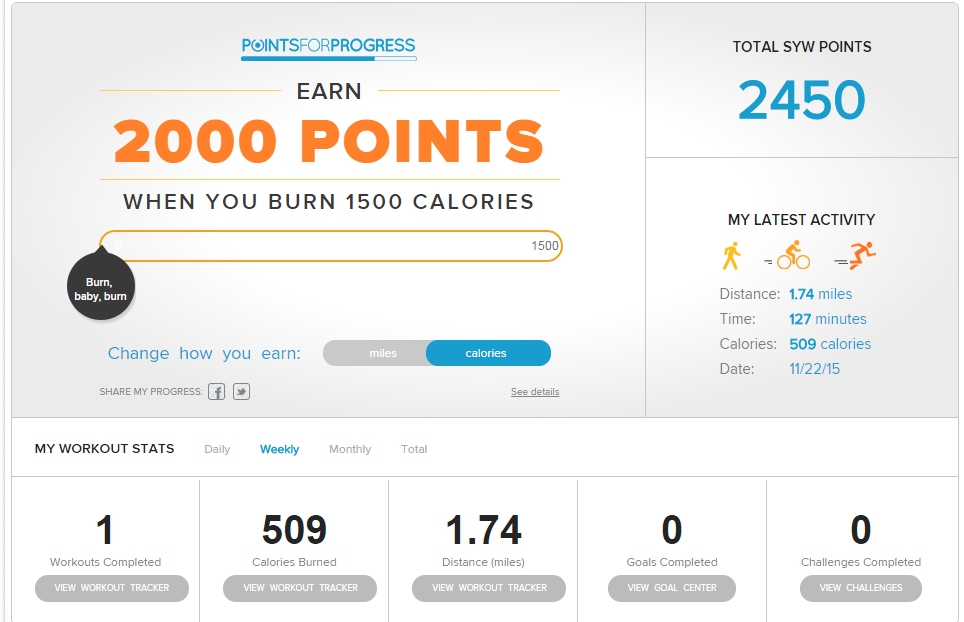 FitStudio earn points while walking & how I used those points for free items