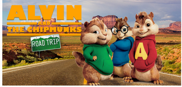 Alvin and the Chipmunks Road Trip enter sweepstakes (Charlotte ...