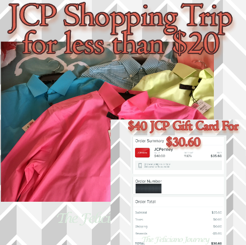 The Feliciano Journey jcp-shopping-trip