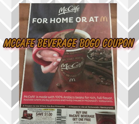 McDonalds McCafe Bogo Coupon