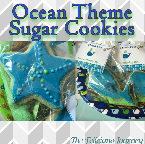 The Feliciano Journey ocean-cookies