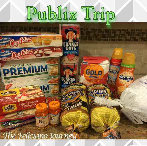 Publix Shopping Trip 11/12/15 – OOP $11.58