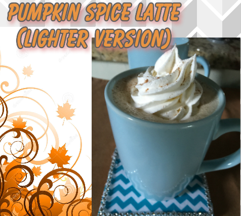 Light Pumpkin Spice Latte