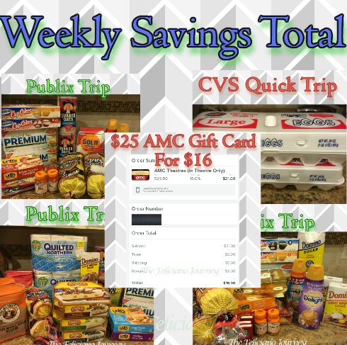 The Feliciano Journey weekly-savings-total-111815