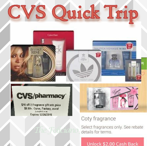 CVS Quick Trip – OOP $10.47 for 2 Gift Sets