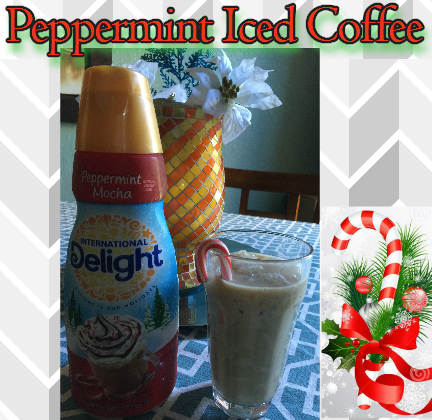 Light Peppermint Mocha Iced Coffee