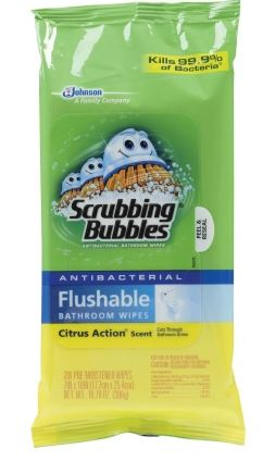 The Feliciano Journey scrubbing-bubbles-wipes