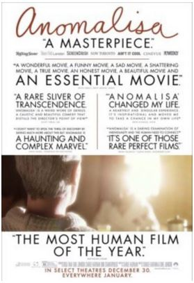 Anomalisa Free Movie Tickets Miami 1/14/16