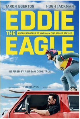 Be the first to see – Eddie the Eagle (multiple cities 113 to choose from)