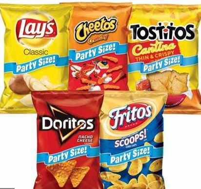Publix Frito Lay Party Snacks as low as $1.50 each
