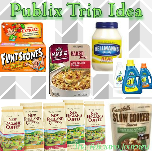 Publix Trip Idea for new weekly ad pay as low as $16.04
