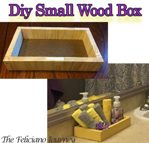 diy small wood box