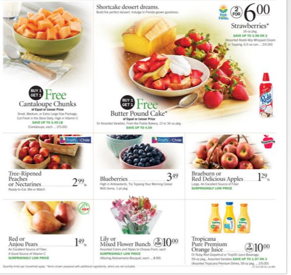 Publix or Target – Save $3 when you buy $15 Fresh food