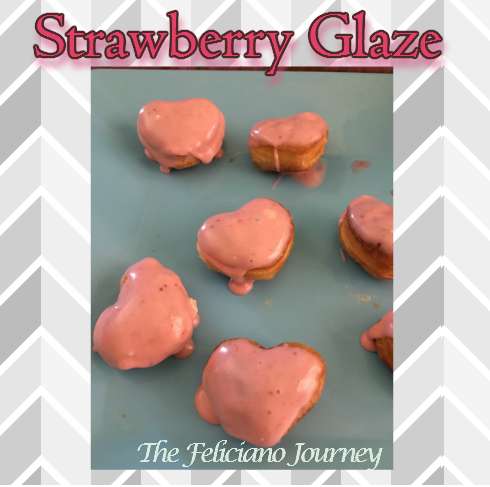 strawberry glaze
