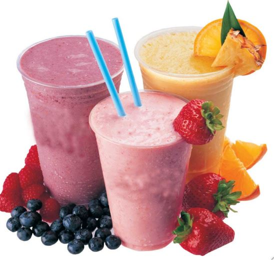 tropical smoothie drinks