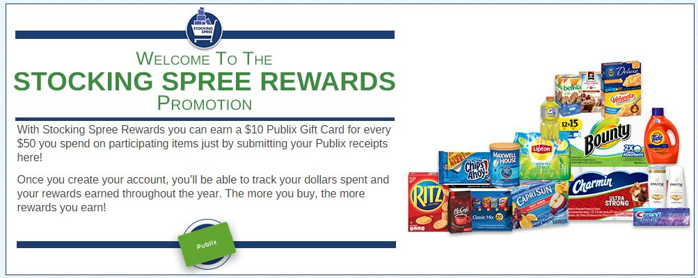 Stocking Spree Rewards Promotion