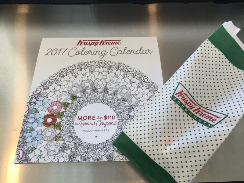 Krispy Kreme 2017 Calendar – January Coupons (starts today)