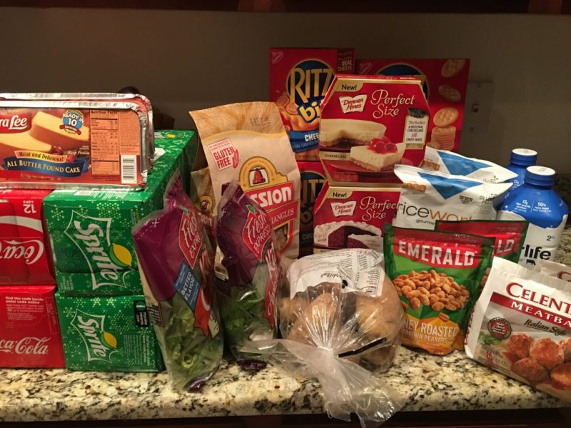 Publix Shopping Trip 12/15/16 – $79.76 with a $50 GC