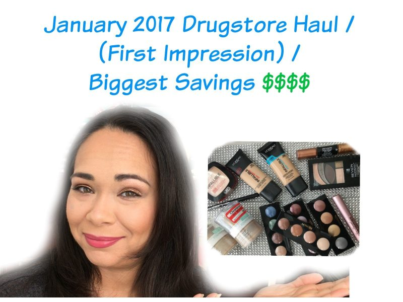 Beauty Haul January 2017 (from $150.19 paid $44.90)