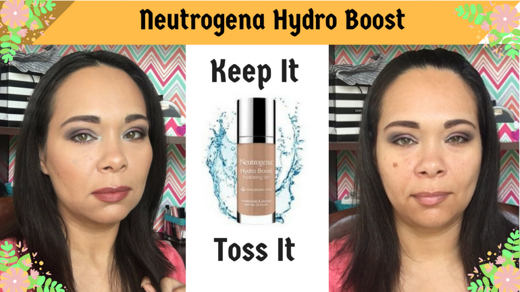 First Impression: Neutrogena Hydro Boost Demo and Review on Oily/Acne Skin
