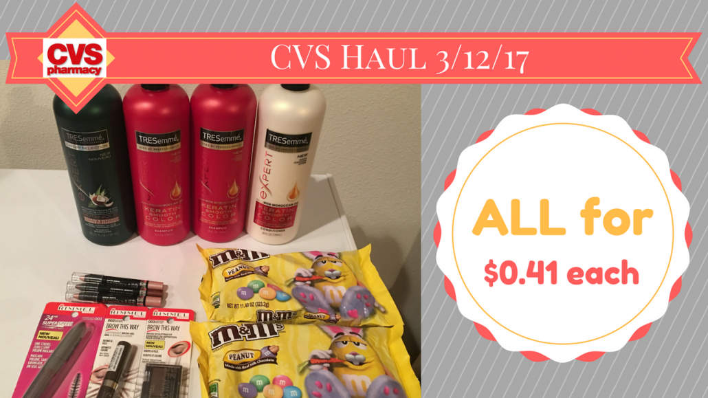 CVS Haul 3/12/17 $0.41 each item (ad 3/12/17 – 3/18/17) (video included)