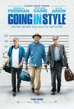 "W.Palm Beach & Miami: See ""Going in Style"" for FREE on 4/3"