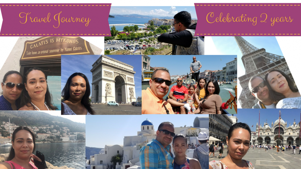 Travel Journey – 2 Years Anniversary (Europe, Greece, Hawaii)