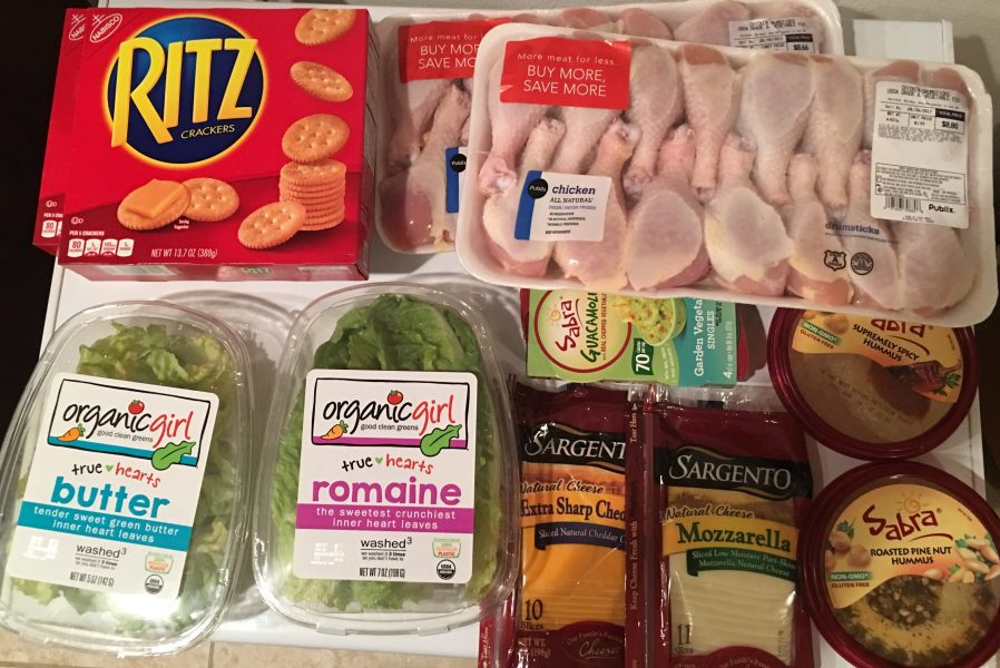 Publix Shopping Trip: 6/29/17 – Paid $20.78 savings $33.15