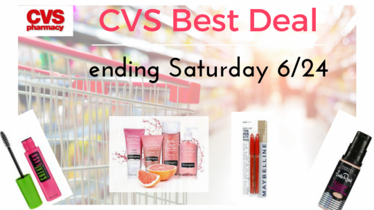 CVS items to consider (ending saturday 6/24)