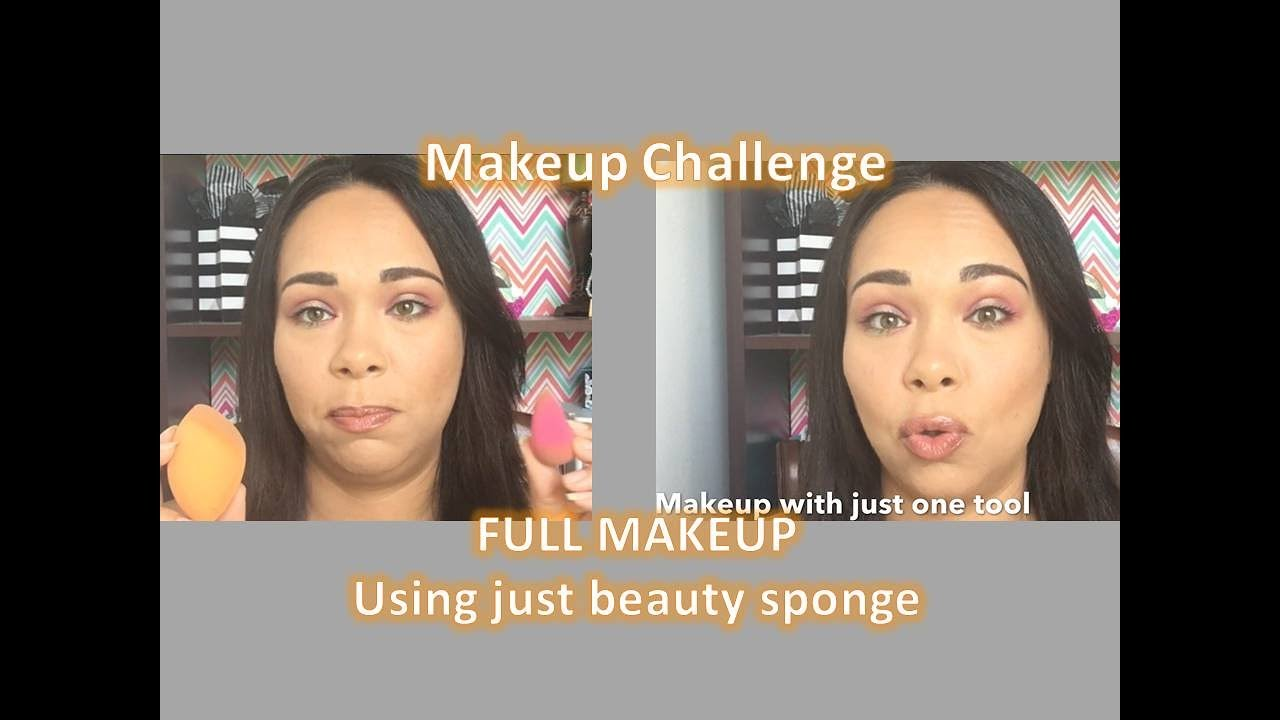 Full Makeup using beauty sponge – Highlight & Contour Drugstore