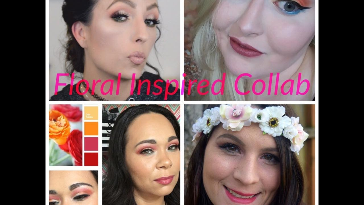 Flower inspired look Collab
