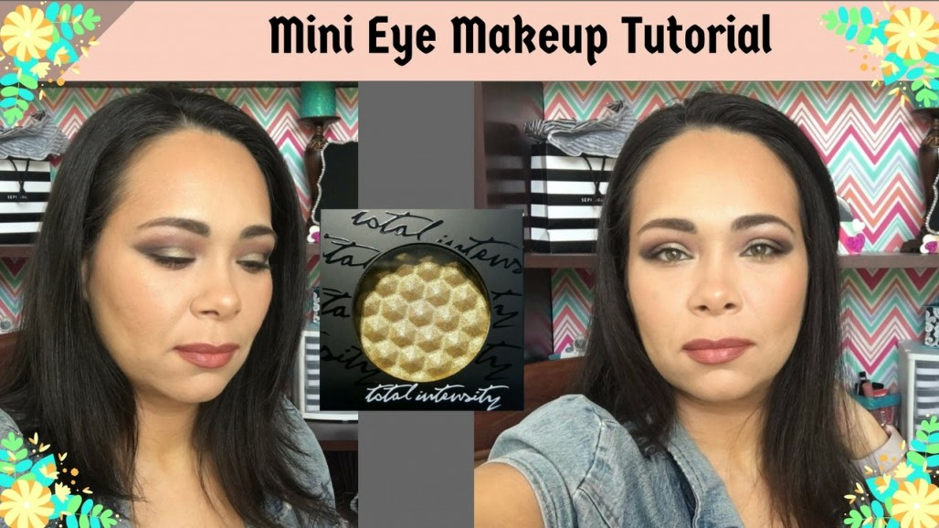First Impression: Mini Eye Makeup Tutorial