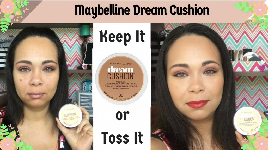 First impression: Maybelline Dream Cushion Liquid Foundation | Jazz Journey