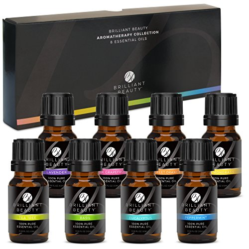 Brilliant Beauty Top 8 Essential Oil Set – ($15.00)