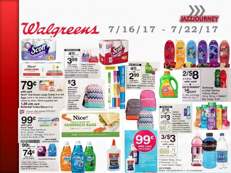 Walgreens Upcoming Deal 7/16/17 – 7/22/17