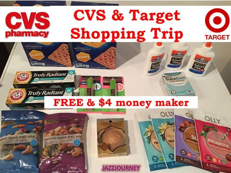 CVS & Target Haul 7/9/17 – $4.04 Money Maker