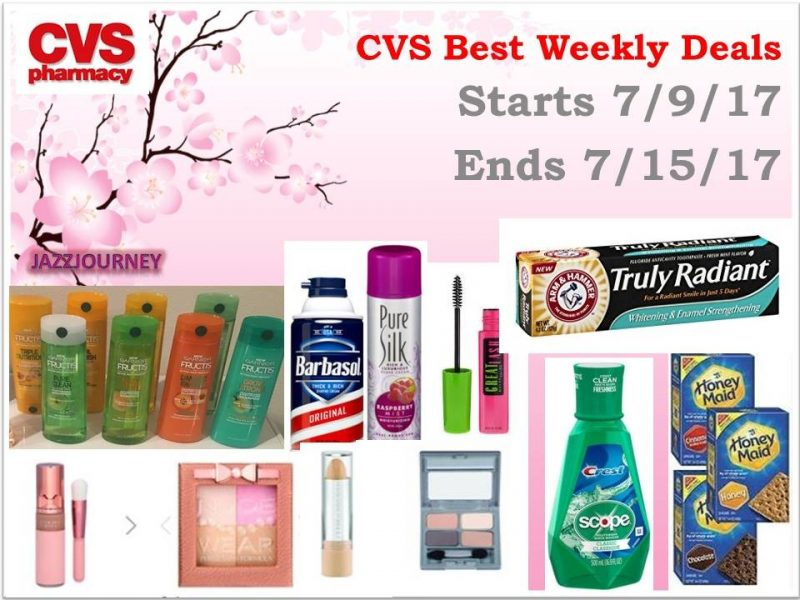 CVS Best Deals (starting 7/9/17 – ending 7/15/17)