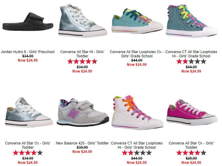timeless design c9d2f e6559 At Kids Foot Locker ( just for today) shop Online  10% off Orders  50 or  More