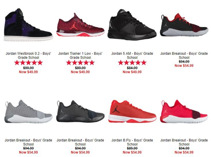 newest 52bf2 570c5 Kids Foot Locker Great deals for back to school 10% off  50 or more (ends  today)
