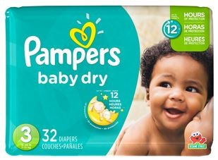 CVS: Pampers Dry Jumbo as low as $4.87 (starting 7/30/17)