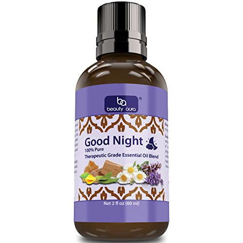 Beauty Aura Good Night Essential Oil Blend (2 Oz) – Carefully picked e…