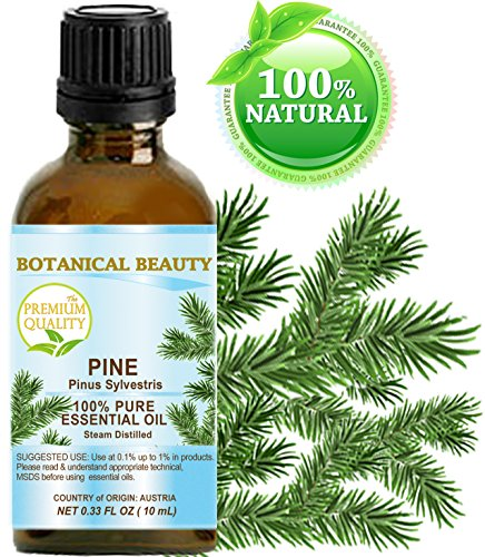 Botanical Beauty Undiluted Pine Essential Oil, 0.33 Fl.oz. (10 ml)