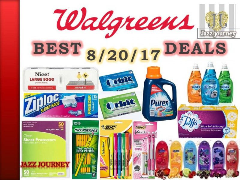 Walgreens Upcoming Deals 8/20/17 – 8/26/17 (starts tomorrow)