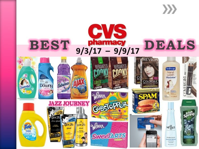 CVS Upcoming Deals 9/3/17 – 9/9/17