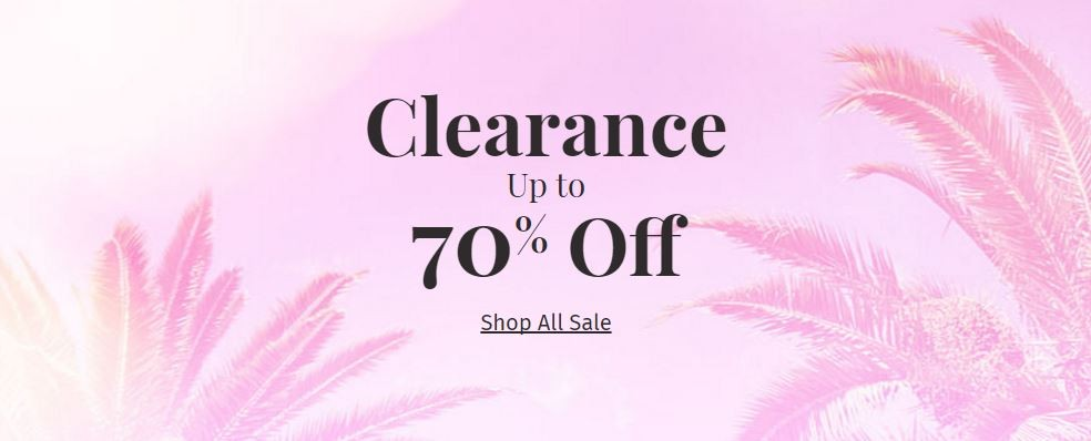 Charlotte Russe: up to 70% off Clearance Items